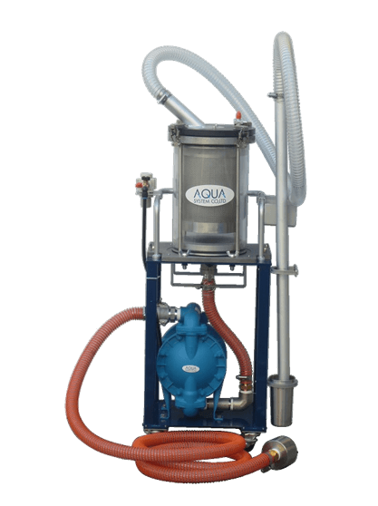 Circulation Filtering Cleaner – Air Driven Type J-FS-i