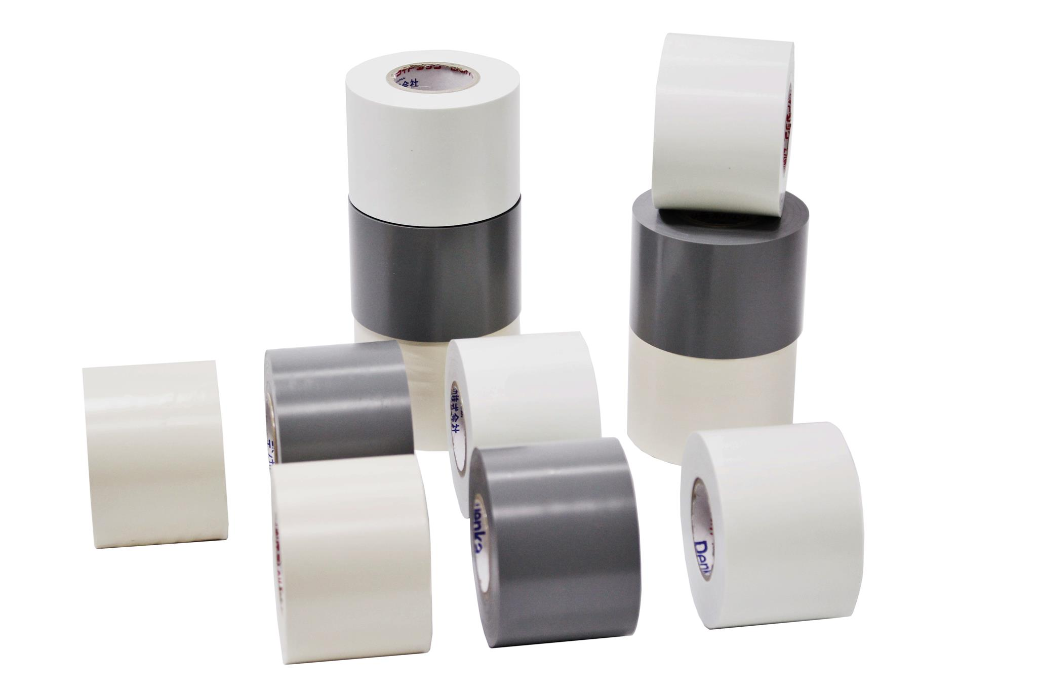 Vinyl tape for air conditioning ducts be not fallen apart (non-adhesive tape)